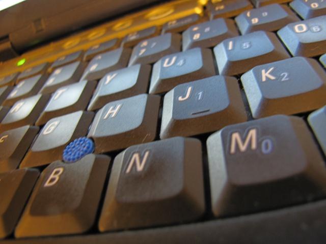 Macro Keyboard Photo