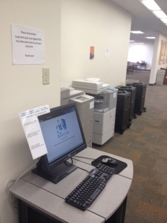 Printing Services in Law Library