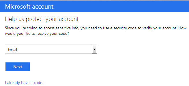 MSN Authentication Setup