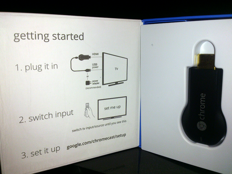 Chromecast Getting Started